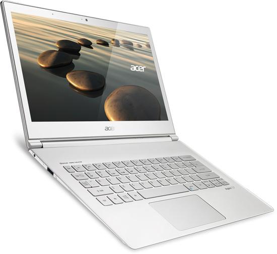Acer начинает продажи ультрабука с мультисенсорным WQHD-дисплеем