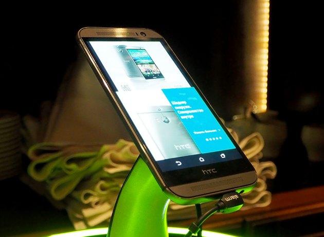Флагманский смартфон HTC One (M8): первое знакомство