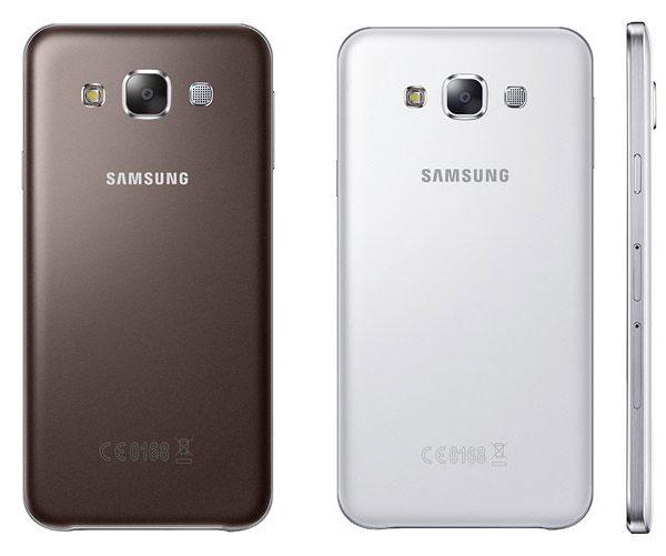 Samsung анонсировала молодежные смартфоны E5 и E7