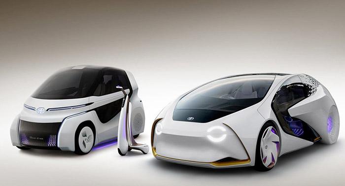 Concept-i: Toyota показала электромобиль будущего