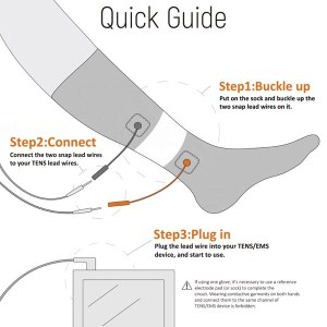 Tens socks for Peripheral Neuropathy – Conductive Socks for TENS EMS