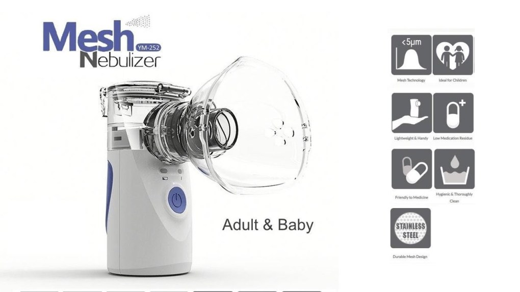 Portable Mini Nebulizer in lowest Price in Bangladesh