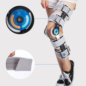 Adjustable Adult Orthosis KAFO Knee Support Brace for Stroke Patient
