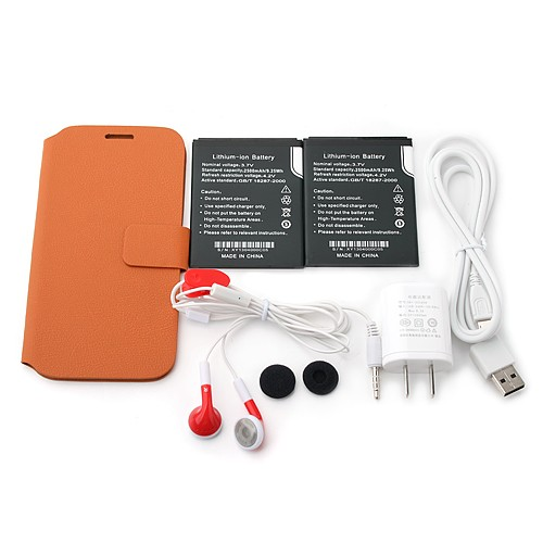 OrientPhone S4 Package Contents