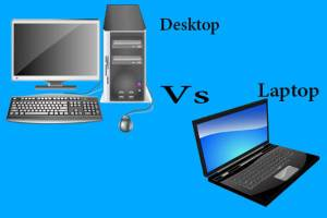 What is the Difference Between Laptop and Desktop Computer?