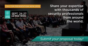 Call for Presentations Now Open for ASIS 2018