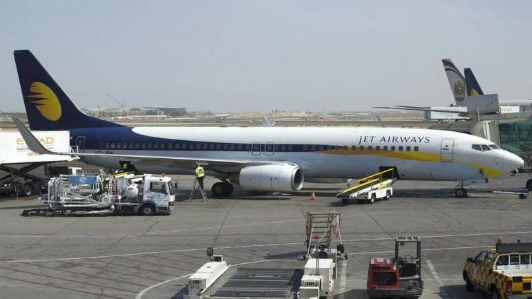 Jet Airways male commander slaps female