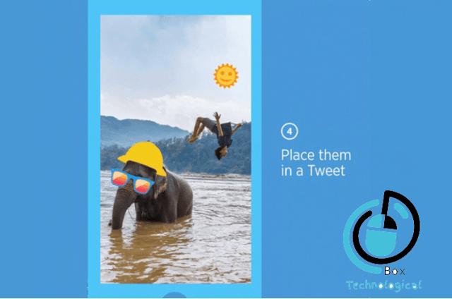 تويتر تضيف الملصقات الي الصور علي اندرويد واي او اس