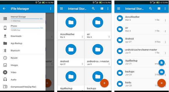 تطبيق Finder لادارة ملفاتك علي اجهزة اندرويد