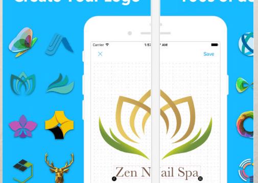 طريقة بسيطه وسهله جدا لتصميم الشعارات واللوجوهات المختلفه في ثواني