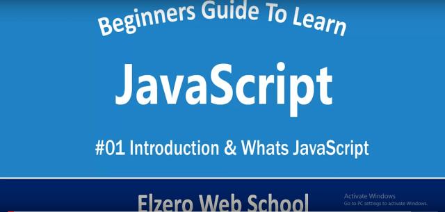 أفضل 10 قنوات لتعلم JavaScript مجاناً