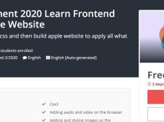 تعلم تصميم المواقع