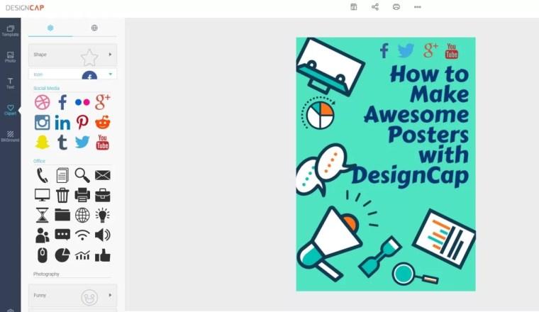 Home page of designcap