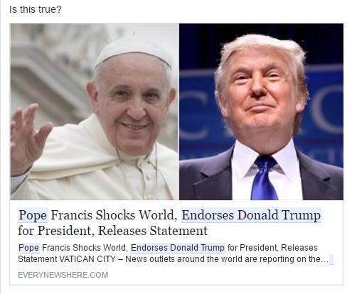 Image result for fake facebook ads