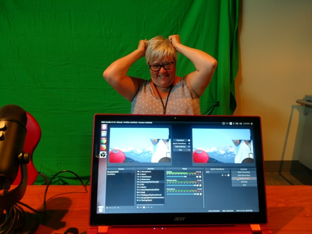 Judy and the Green Screen
