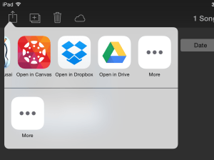 export garageband to google drive 05