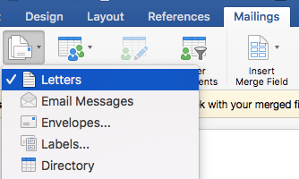 Doing an Email Merge on a Mac with Outlook, Excel, and Word