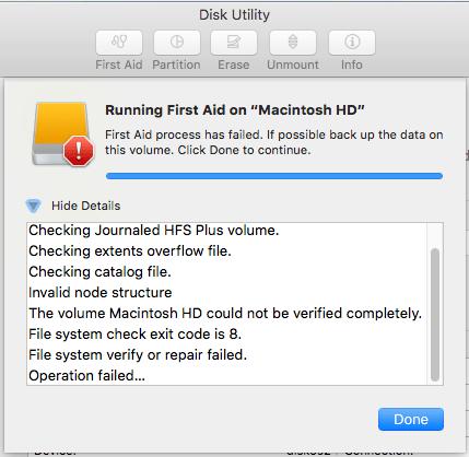 """Fix """"invalid node structure"""" error in macOS – St  Ignatius College"""