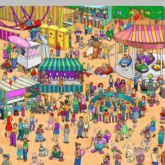 Can you find Waldo? Can you then unfind Waldo?