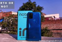 Micromax IN Note 1 Specification,