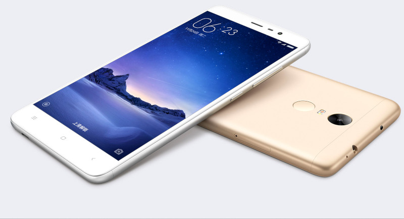 Xiaomi Redmi Note 3 unveiled with hexa-core CPU and with 4,000 mAh battery