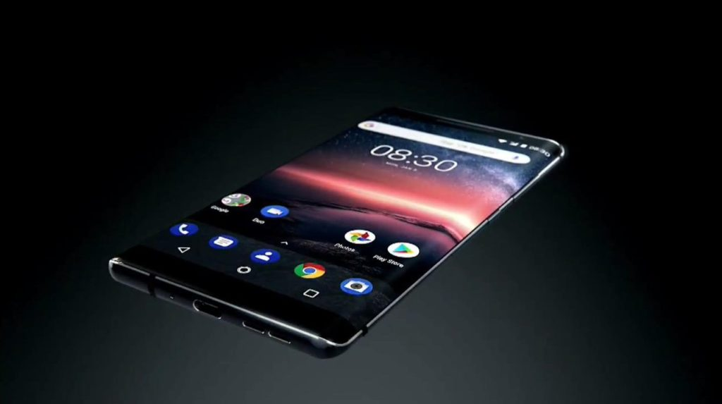 Nokia 8 Sirocco, the most-powerful Android One smartphone Launched