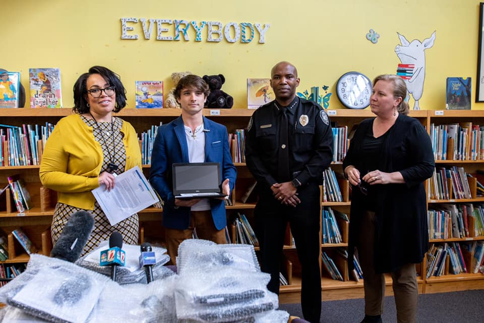 Partnering with Guilford Education Alliance To Give 10,000 Students Laptops
