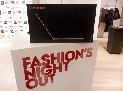 Lenovo at Fashions Night Out 2011