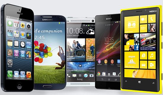 उत्कृष्ट दस स्मार्टफोन