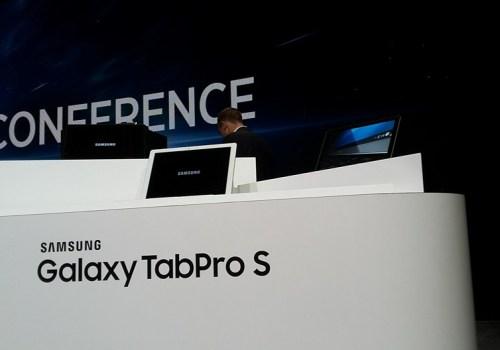 सामसुंग ग्यालेक्सी ट्याब प्रो एसको मूल्य ९,९९ यूरो, विण्डोज १० मा आधारित ट्याबलेट