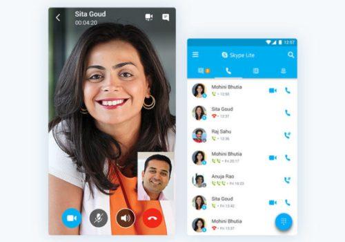 स्काइपको लाइट भर्सन स्काइप लाइट एप, अब टूजीमा स्काइप चलाउन सजिलो