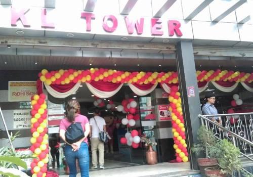 केएल टावरमा 'विगअफर सेल' शुरु, सामान खरिदमा ५० प्रतिशतसम्म छूट