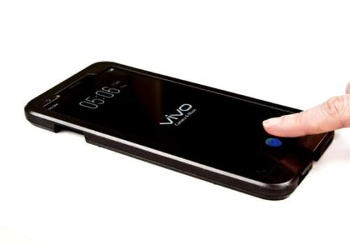 डिस्प्ले मुनि फिंगरप्रिन्ट स्क्यानर भएको पहिलो फोन 'भीभो एक्स २० प्लस'