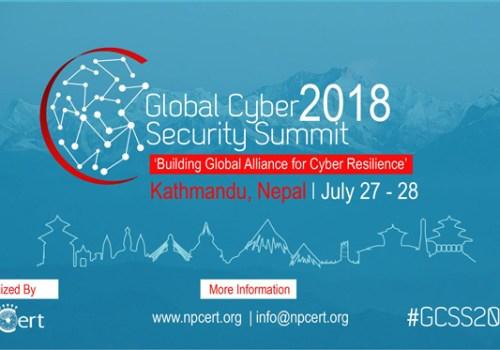 ग्लोबल साइबर सेक्युरटी समिट आयोजना हुँदै, साइबर कानून, अपराध, सुरक्षालगायतका विषयमा छलफल हुने