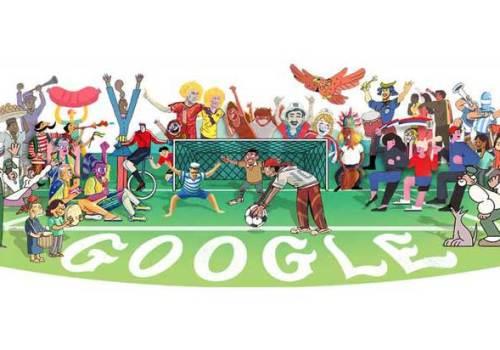 फिफा वर्ल्ड कपको अवसर पारेर गूगलको विशेष डूडल