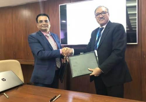 नेपाल बैंकर्स संघ तथा भारतीय बैंक संघवीच सम्झौता