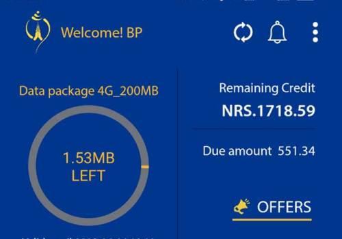 नेपाल टेलिकमको मोबाइल एप नयाँ स्वरुपमा, एपबाटै प्याकेज खरिद र रिचार्ज गर्न सकिने