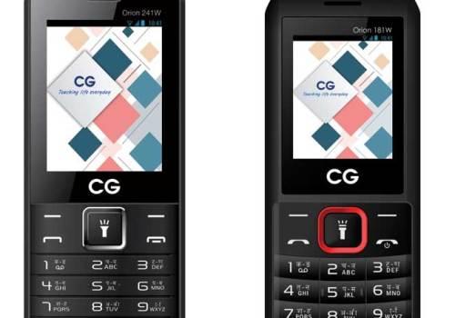 सिजी मोबाइल्सको दुई नयाँ फीचर फोन बजारमा