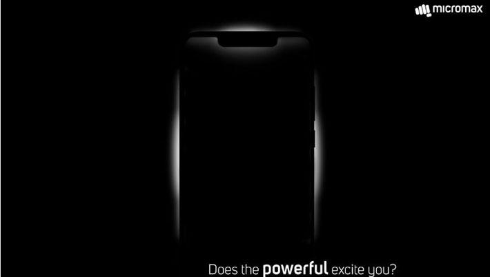 माइक्रोम्याक्सले नोच डिस्प्ले भएको स्मार्टफोन ल्याउँदै