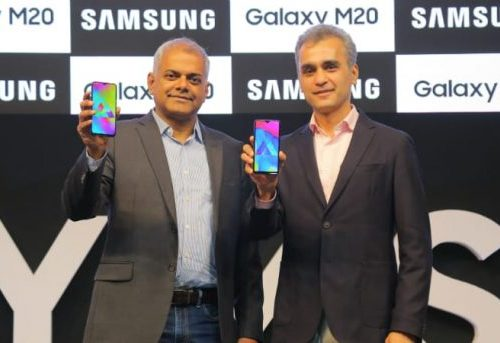 सामसंग 'ग्यालेक्सी एम १० र एम २० स्मार्टफोन लन्च, यस्ता छन् फीचरहरु