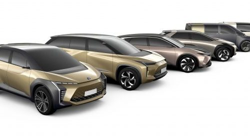 यस्तो डिजाइनमा आउनेछ टोयोटाको इलेक्ट्रिक भेहिकल, सार्वजनिक भयो तस्विर