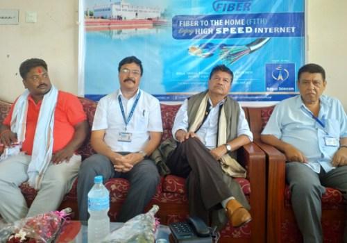 नेपाल टेलिकमद्धारा पहिलो पटक गाउँपालिकालाई केन्द्रित गरी एफटीटीएच वितरण