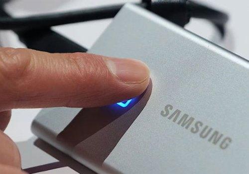 सामसङको बाेकेर लान सकिने एसएसडि हार्ड ड्राइभ, डाटा सेक्युरिटीको लागी फिंगरप्रिन्ट फिचर
