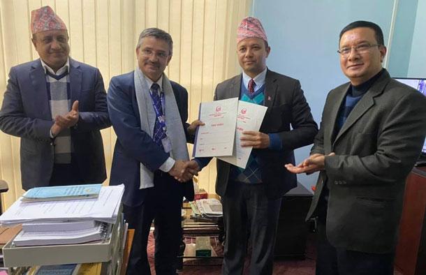 नेपाल टेलिकम र सडक विभागबीच सहकार्य, सडक निर्माणसँगै टेलिकमको अप्टिकल फाइबर राखिने