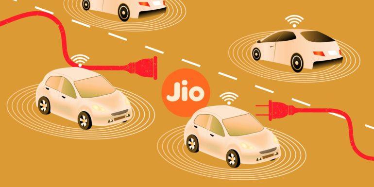 भारतीय टेलिकम कम्पनी रिलायन्स जियोद्धारा कनेक्टेड कार सिस्टम लन्च
