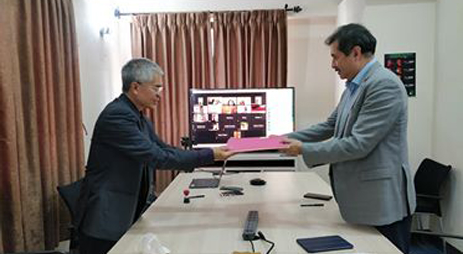 व्यवसायिक पहल र मदन भण्डारी विश्वविद्यालय बीच सम्झौता, नयाँ प्रविधिको विकास तथा सुधार गर्ने