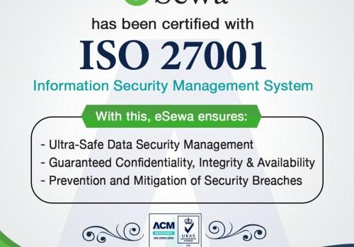 इसेवाले पायो आइएसओ २७००१: २०१३ मान्यता प्राप्त प्रमाणपत्र