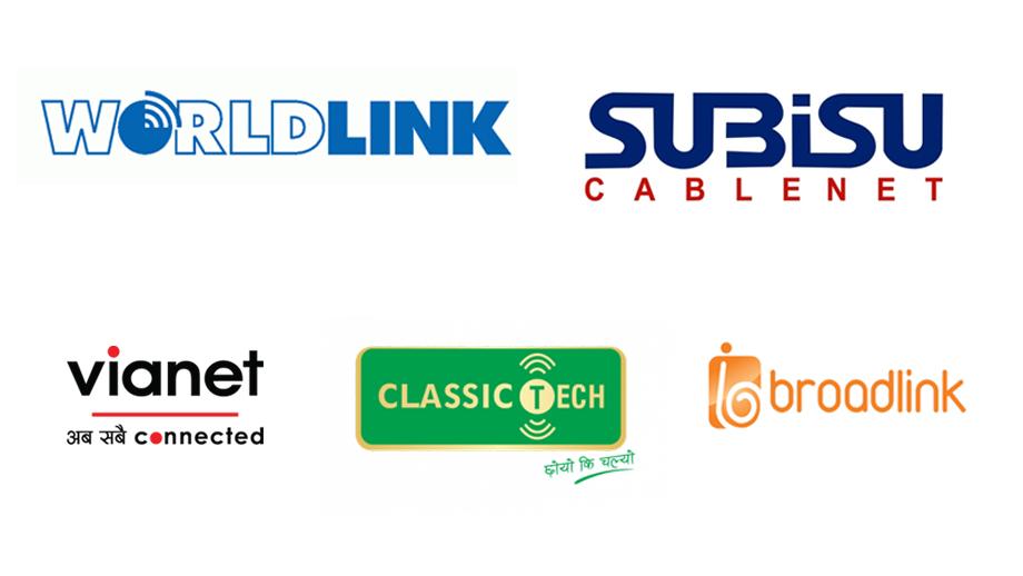 यी हुन् नेपालका टप १० इन्टरनेट सेवा प्रदायक कम्पनी, नम्बर एकमा वर्ल्डलिंक दोस्रोमा सुबिसु