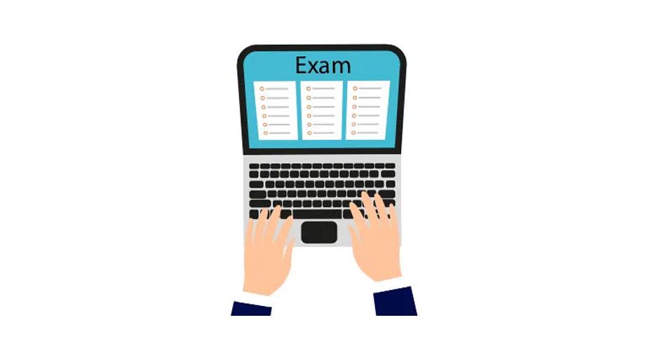 अनलाइन माध्यमबाट विद्यार्थीको अन्तिम वार्षिक परीक्षा लिईँदै