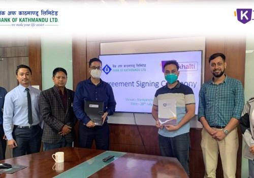 बैंक अफ काठमाडौं र 'खल्ती' डिजिटल वालेटबीच सहकार्य, बैंक खाताबाट भुक्तानी गर्न सकिने